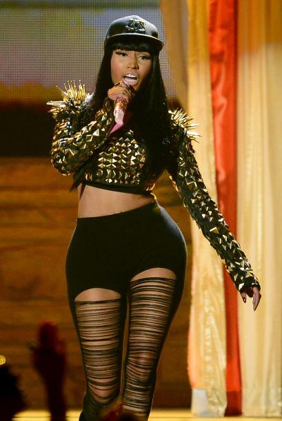 Nicki Minaj es una de las extravagantes del 'showbiz, y la verdad con es...