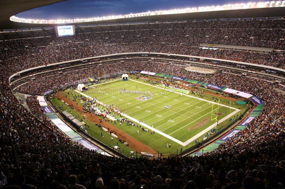 Fue la última vez que la NFL organizó un partido en México, hasta ahora.