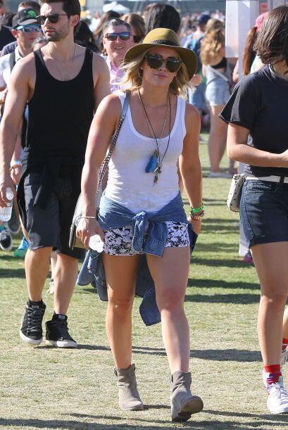 Hilary Duff se topó con su ex esposo. Mira aquí los videos...