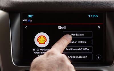 El nuevo sistema permite a los usuarios pagar por sus compras de combust...
