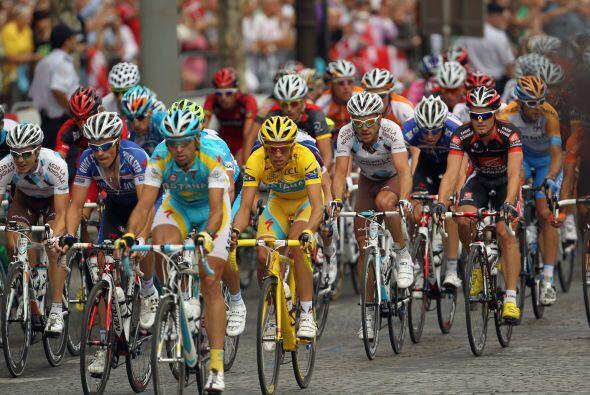El gran esfuerzo del Tour de Francia no se quedó atrás en esta última et...