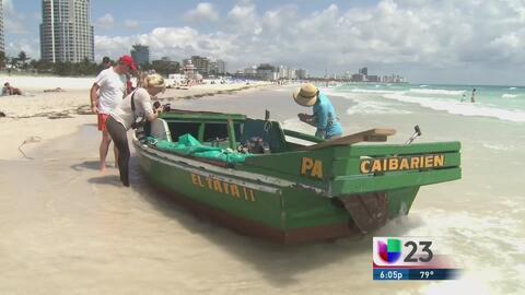 Más cubanos llegan a las costas de Florida