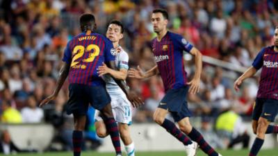 Hirving Lozano, el PSV y un 'baño de realidad' tras el 4-0 del Barcelona