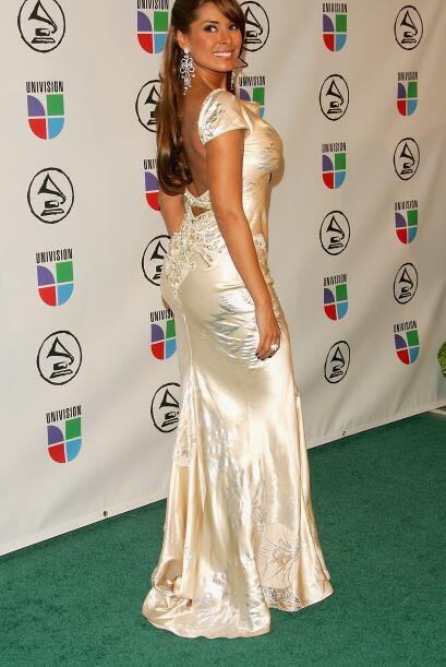 La bella mexicana llama la atención por su espectacular figura, la cual...