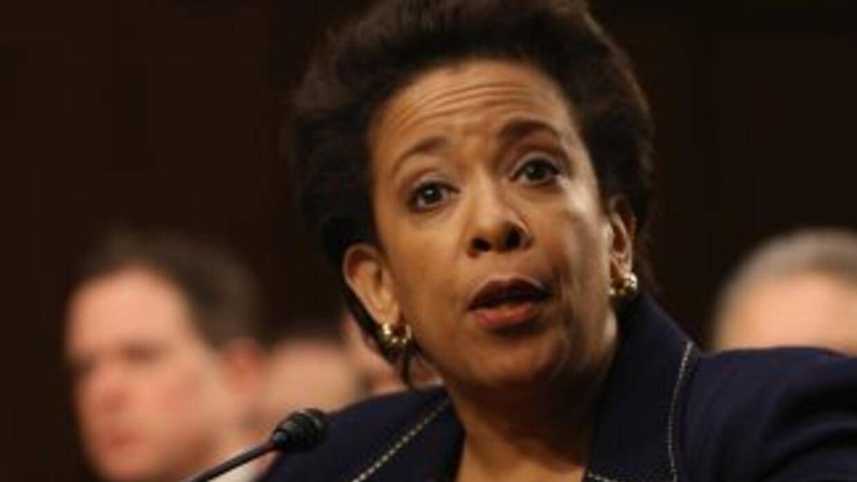 Loretta Lynch.