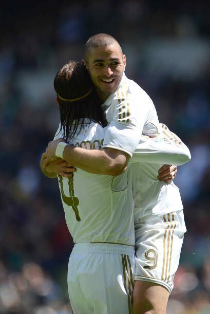 Karim alcanzó los 20 goles en el torneo, para que junto a 'CR7' y Gonzal...