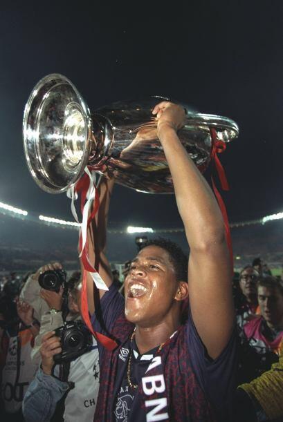 Su tiro fue el gol del triunfo y el Ajax se quedó con la Champion...