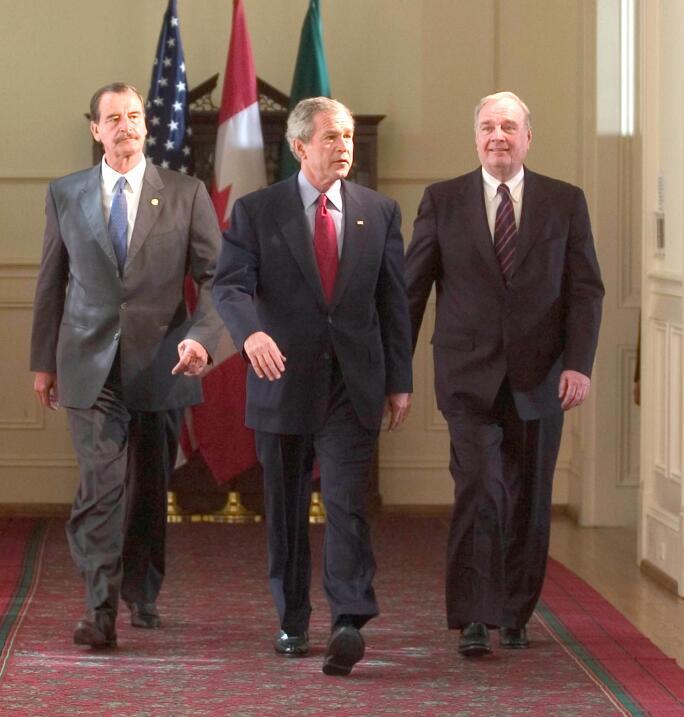 Reunion de presidentes 2005 en Waco Texas