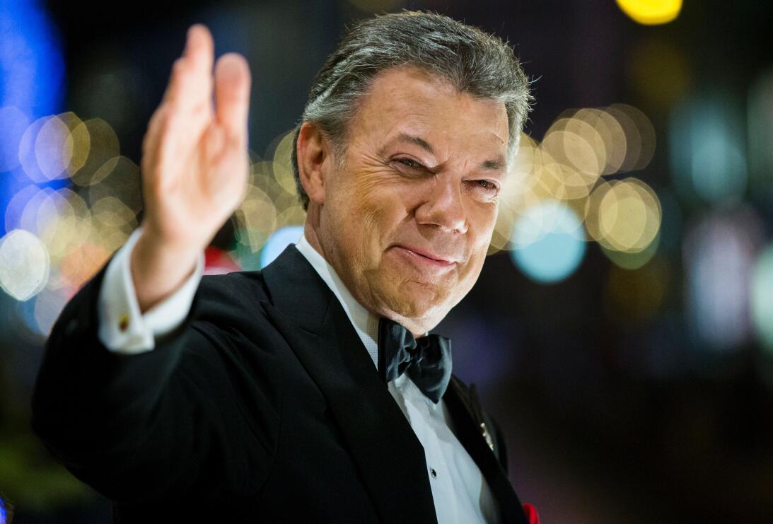 Juan Manuel Santos Nobel