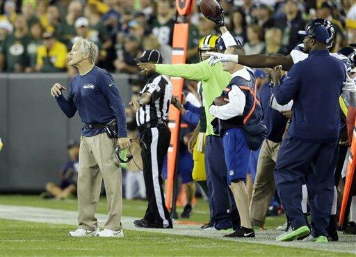 Las mejores imágenes del duelo de la S2, los Seahawks visitando a los Pa...