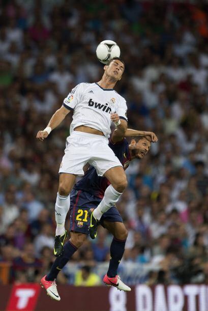 El Madrid dominaba a plenitud, a pesar de que también falló en varias op...