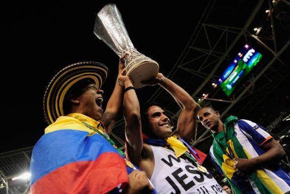 Los portugueses se sentían como en casa durante su celebración.