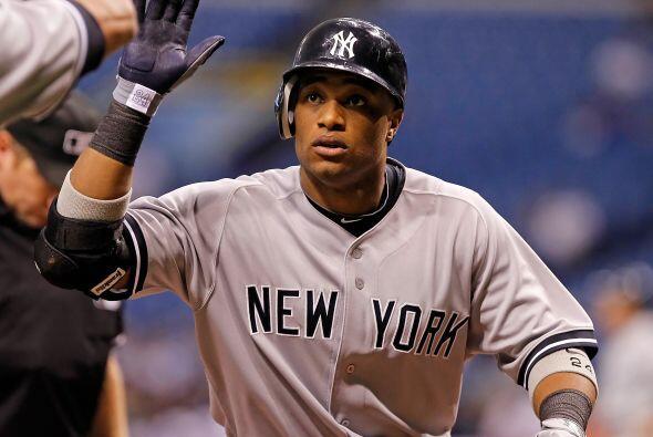 2B. Robinson Canó. Yankees de Nueva York. El dominicano bateó para .318...