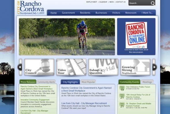 12. City of Rancho Cordova   Industria: Servicio social y agencias del g...
