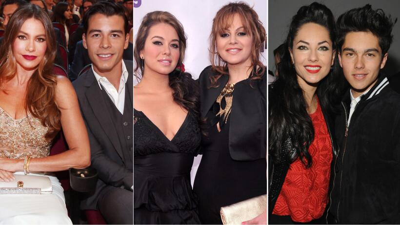 Sofia Vergara, Jenni Rivera, Bárbara Mori famosas mamás adolescentes