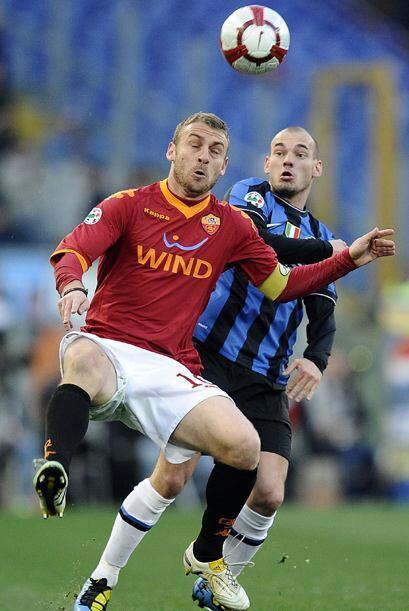 Ahora fue la Roma quien pasó por encima del Inter en la Serie A d...