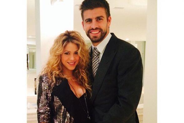 Pero hay alguien a quien no le interesa si la pancita de Shakira aumenta...