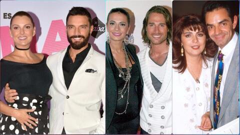 Estas parejas de famosos tuvieron fuertes pleitos por la custodia de sus...