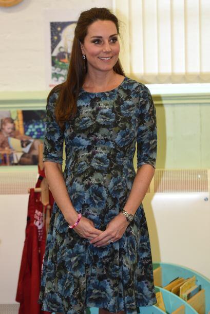 Kate asistió al centro infantil en Smethwick, Inglaterra.