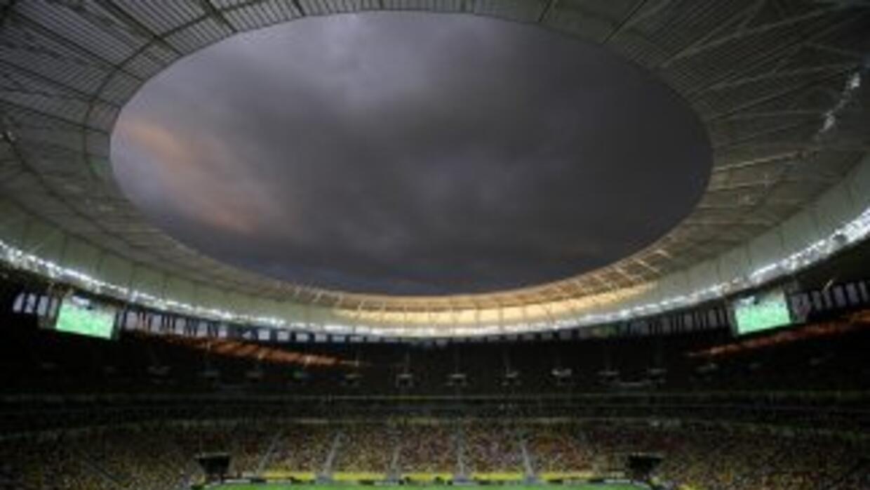 El Estadio Nacional Mane Garricha sustituyó al Estadio Mane Garrincha qu...