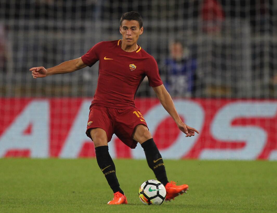 Domingo 27 de noviembre - Roma Vs. Sampdoria: el defensa Héctor Moreno s...