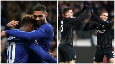 Los perfectos de la Europa League: Chelsea y Frankfurt, números asombrosos en la competición