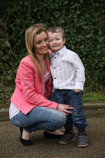 Este suceso le mostró a la joven madre que aún hay gente buena y está to...