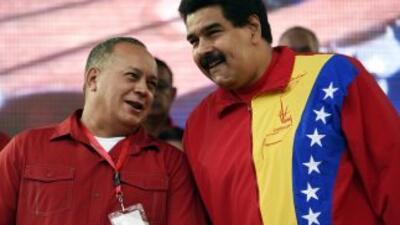 """""""Vamos a traerlos a Venezuela"""", dijo Maduro durante un acto público."""