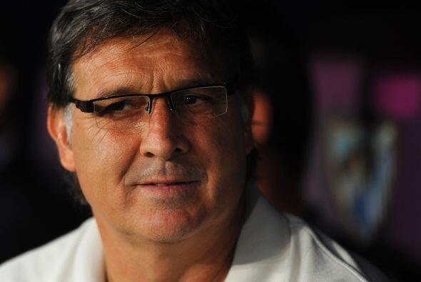 El entrenador Gerardo Martino necesita trabajar más con su equipo, que l...