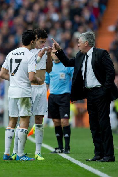 Ancelotti recompuso el equipo para buscar dar espectáculo a la afición.