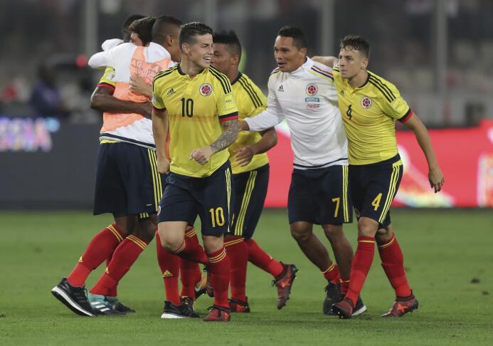6. Colombia (Conmebol) - 8,803,751 seguidores.