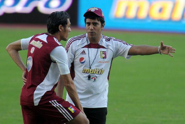 César Farías es otro de los técnicos debutantes en este certamen. Venezu...