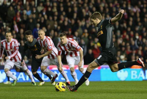 Los 'Reds' apenas con dos minutos jugados ya ganaban gracias a un penalt...