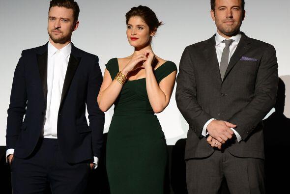 Los tres lucen espectacular juntos.