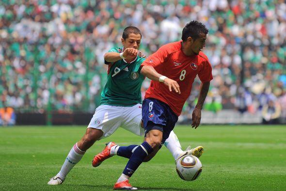 Previo a la Copa del Mundo de Sudáfrica 2010 México se despidió de su af...