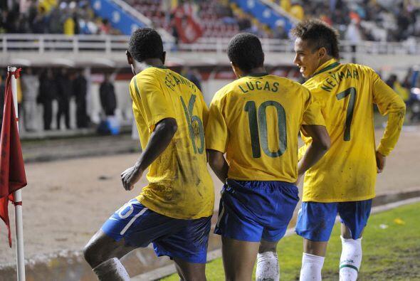 Lucas y Neymar le pusieron ritmo a este final de torneo.