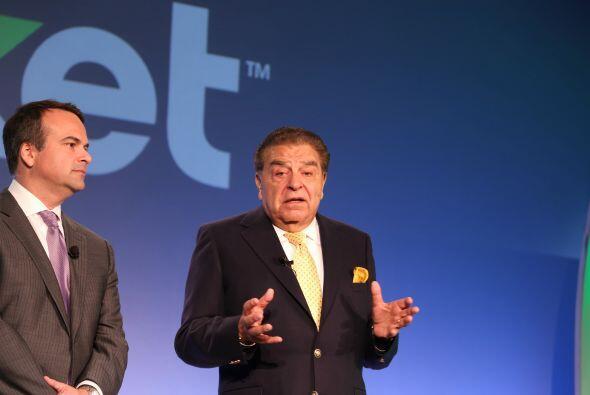 El presentador de 'Sábado Gigante' dio un gran discurso durante la confe...
