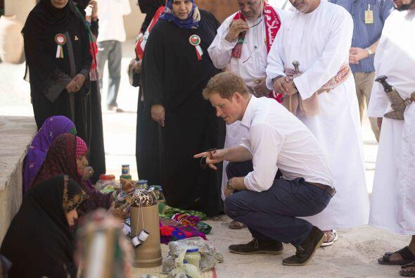 Así que Harry realizó una visita a la Muttrah Souq.