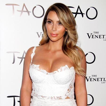 Después de perder las más de 50 libras que ganó durante su embarazo, Kim...