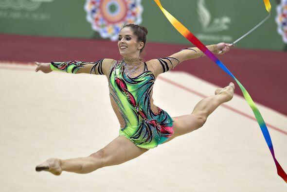 La mexicana Cinthya Valdez se colocó en la cima de podio en las pruebas...