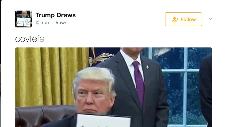 El presidente usó una palabra inexistente en un tuit e Internet e...