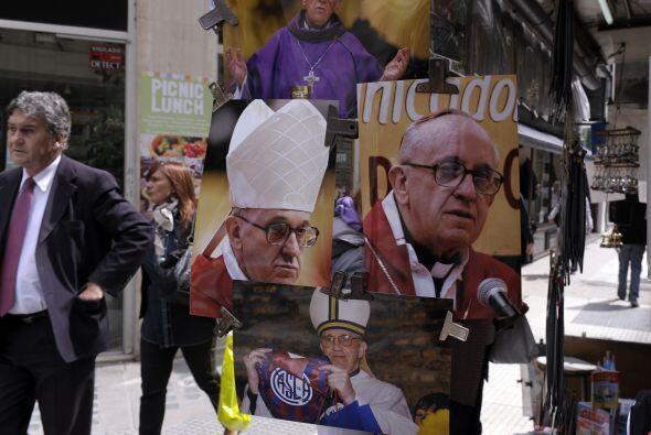 En su natal argentina, Bergoglio es un verdadero ídolo.