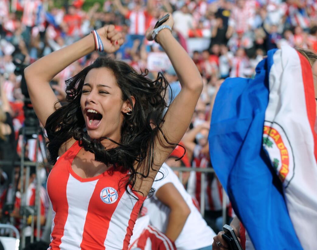 ¿Qué pasó con Larissa Riquelme, la novia del Mundial en 2010? GettyImage...
