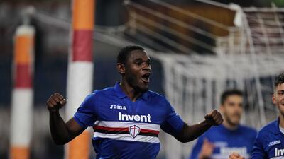 Sampdoria sorprende y sale con los 3 puntos de Roma