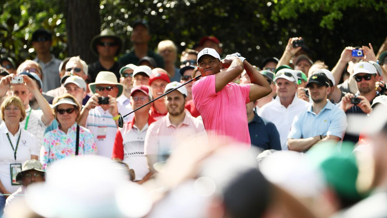 El dominio de Jordan Spieth en el comienzo del Masters de Augusta de gol...