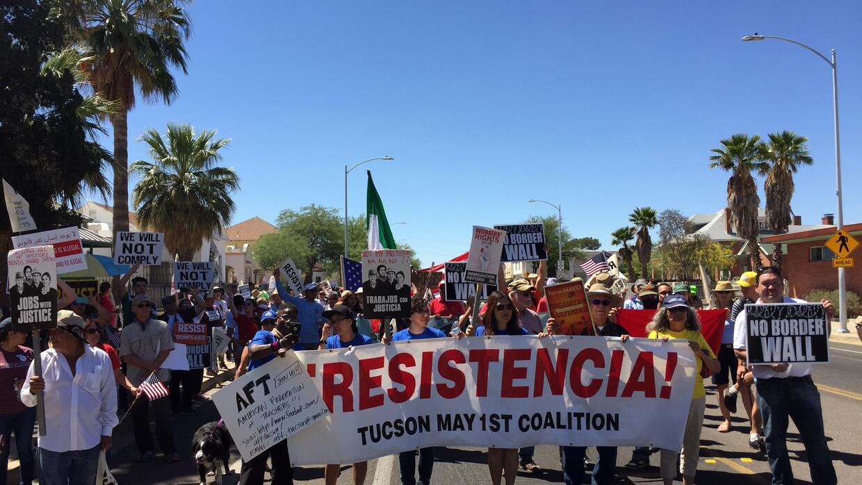 En fotos: Los Angeles muestra su 'resistencia' contra Donald Trump en la...