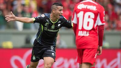 Toluca 2-2 Santos: El 'Pulpo' González rescata agónico empate ante un Di...