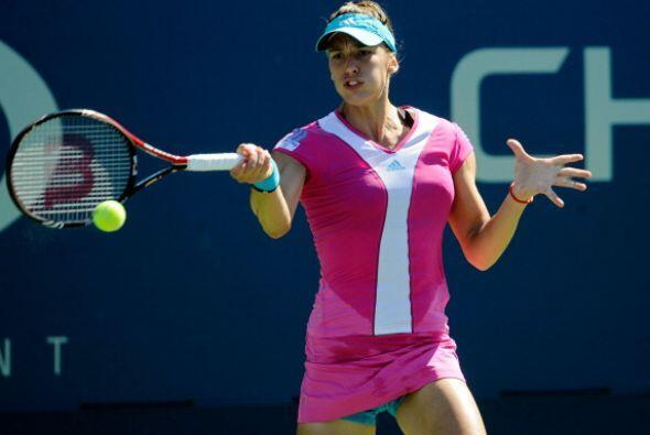 La número diez de la WTA, Andrea Petkovic, dio cuenta de Ekaterina Bychk...