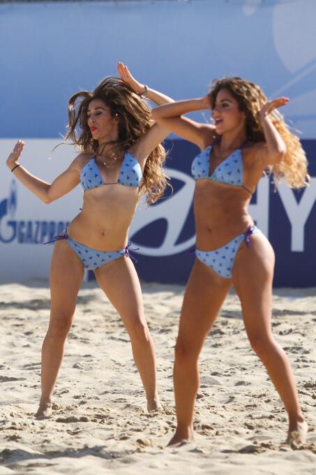 Las bellas mujeres del Mundial de Fútbol de Playa