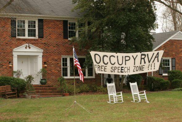 Manifestantes de 'Occupy' en todo Estados Unidos están ingresando a casa...